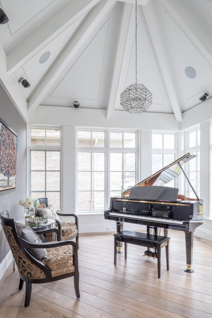 New Home Construction - Music Room - Neven Custom Homes Ltd.